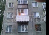 П-образный балкон (пенобетон) - остекление, сайдинг, обшивка.