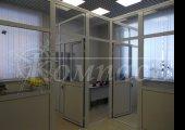 Зонирование помещения - офисными перегородками