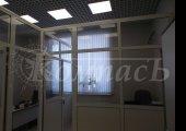 офисные перегородки - заполнитель сэндвич и стекло