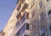 Остекление балкона, алюминиевым профилем